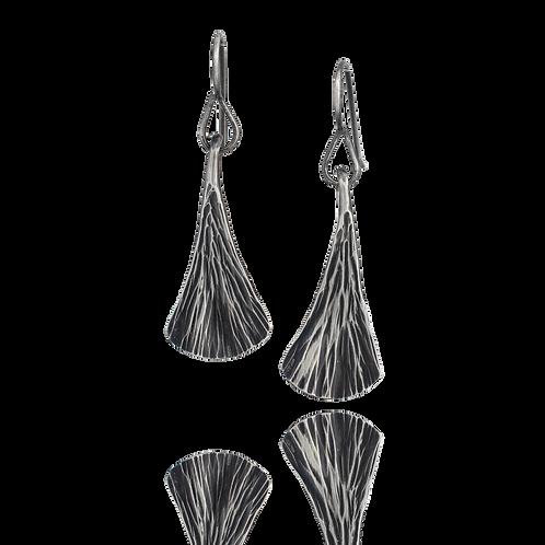 Ginkgo Leaf Dangle Earrings