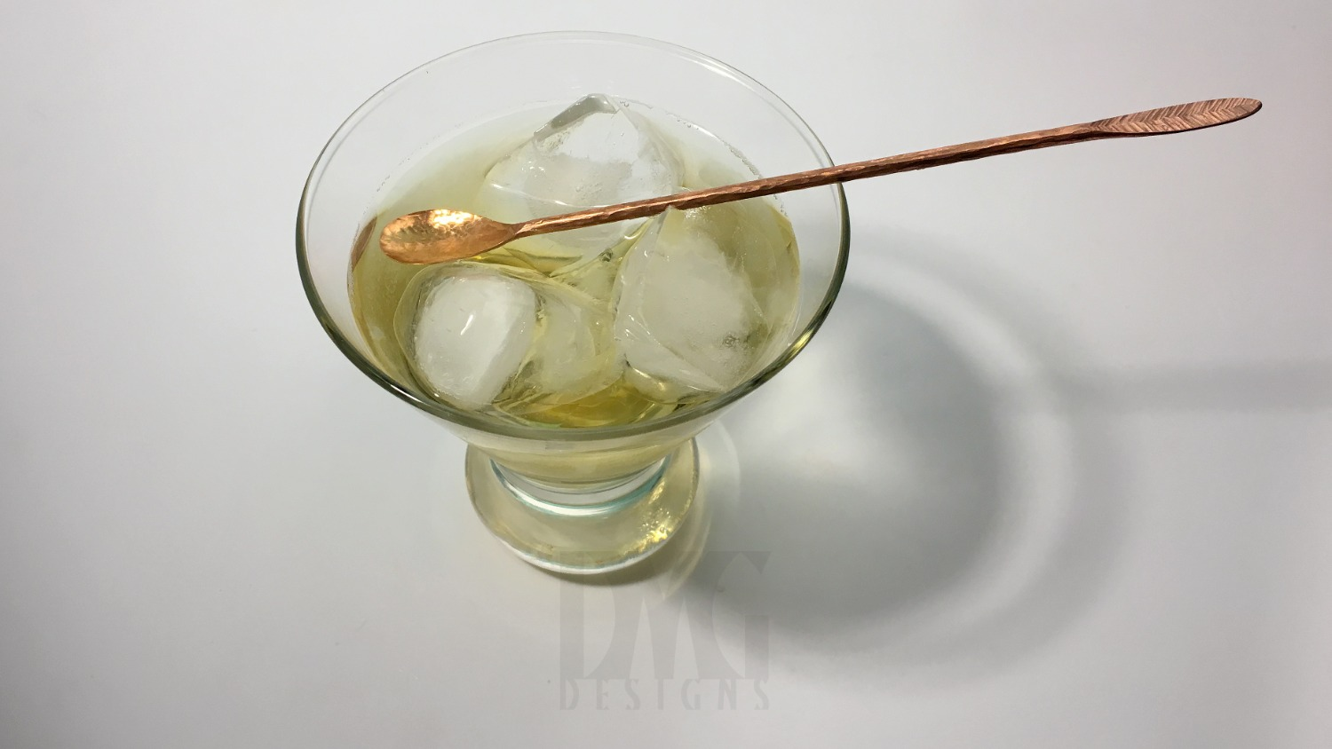 Copper Cocktail Stirrer - In Drink_edite