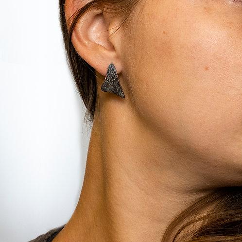 Sparkle Sail Stud Earrings