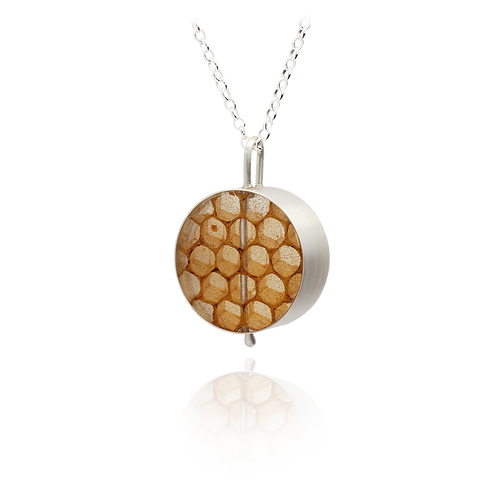 Real Honeycomb Pendant