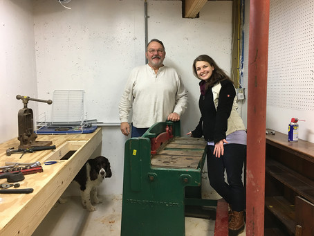 Danielle Gerber Awarded Emerging Artist Studio Equipment Grant by the Maine Crafts Association