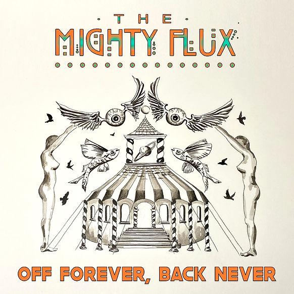 Off forever, back never - front cover.JP