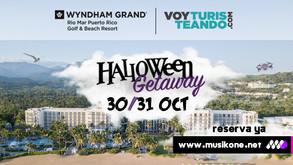 Voy Turisteando te invita al HALLOWEEN GETAWAY // 30 & 31 de octubre en el Wyndham Rio Mar