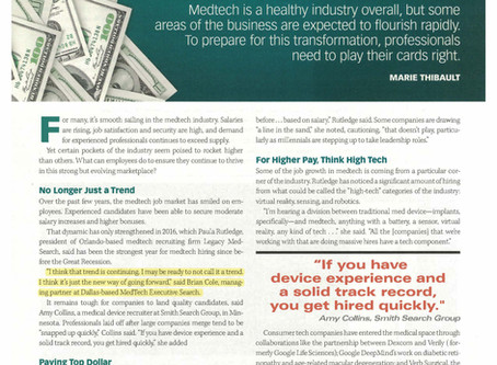 MD+DI's annual MedTech Salary Survey - 2016