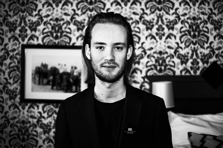 Joel  Lindblad, Style manager Grand Hotel