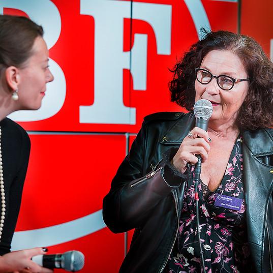 Ebba Witt Brattström, bokmässan GBG 2016 för Boktugg,se