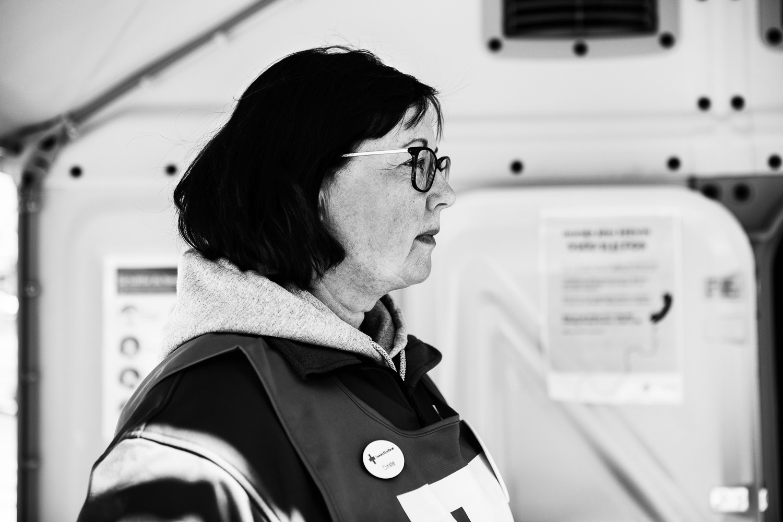 Christel Petersen, Röda Korsets Krisberedskap, Helsingborgskretsen.