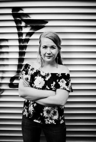 Therese Jarmo, verksam konstnär på Gåsebäck