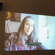 Från filmvisning på Dunkers Kulturhus.