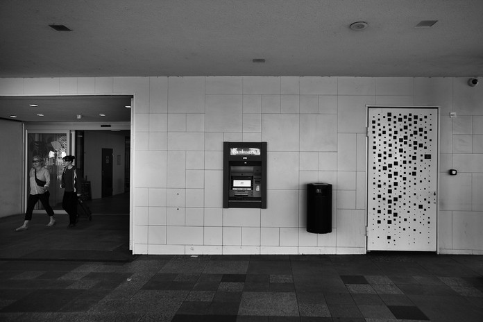 Bankomat i Malmö 20-06-08