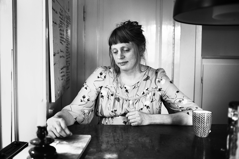 Hedvig Weibull,kulturjournalist och blivande trebarnsmamma. 11:e juni 2020