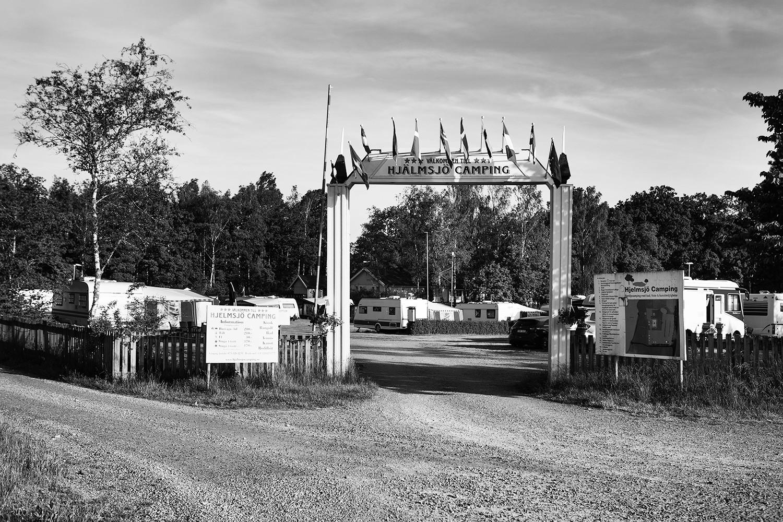 Camping i Hjälmsjövik 20-06-