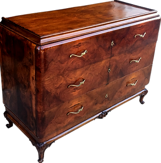 Antique Swedish Chest Of Drawers (dresser). Refinished By Delaware Furniture  Restoration And Brought