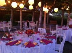 Abbott Courtyard Reception Night