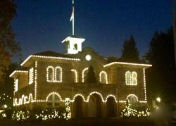 Sonoma Plaza in December