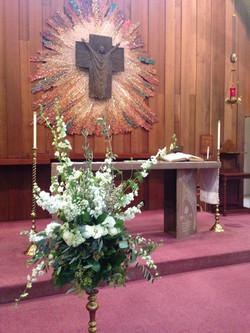 Sanctuary Wedding Setting