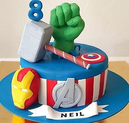 Theme Birthday Cake by Celebrating Life