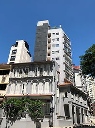 Conserved building with 10 storey extens
