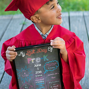 Liam's Pre-k Graduation