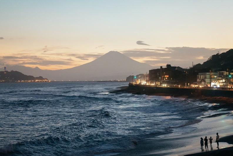 Fuji View from Inamuragasaki