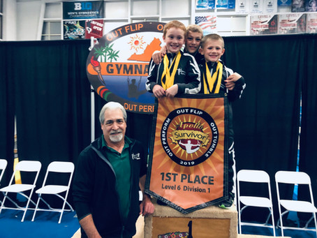 Another Big Weekend for Williamsburg Gymnastics