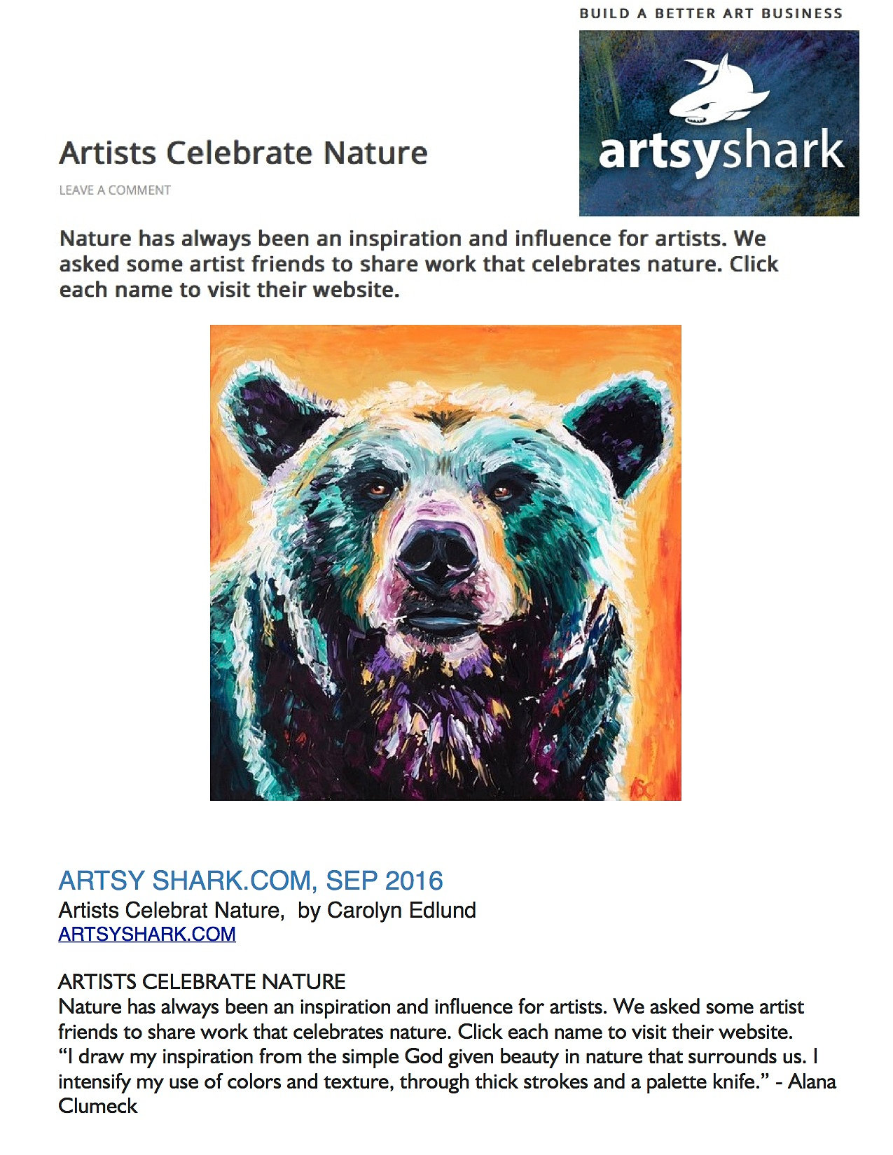 alana clumeck fine art santa barbara equine artist artsy shark com artsy shark com sep 2016 artists celebrat nature by carolyn edlund artsyshark com artists celebrate nature nature has always been an inspiration and