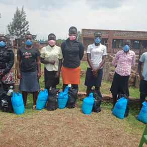 Homa Bay County Food Distribution During Pandemic