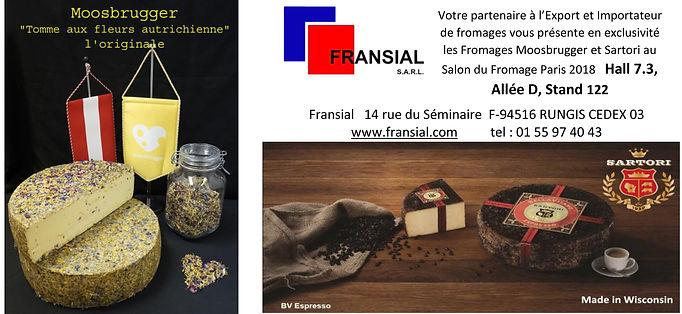 Annonce de notre participation au Salon du Fromage Paris 2018
