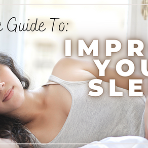 ULTIMATE GUIDE TO FIXING  YOUR SLEEP