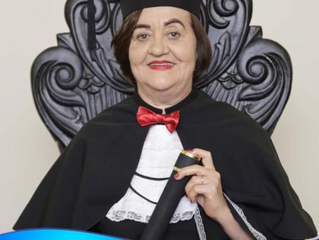Conheça a história da dona Carmen Lúcia Batista Mendes que formou em Direito na FIBRA aos 60 anos de