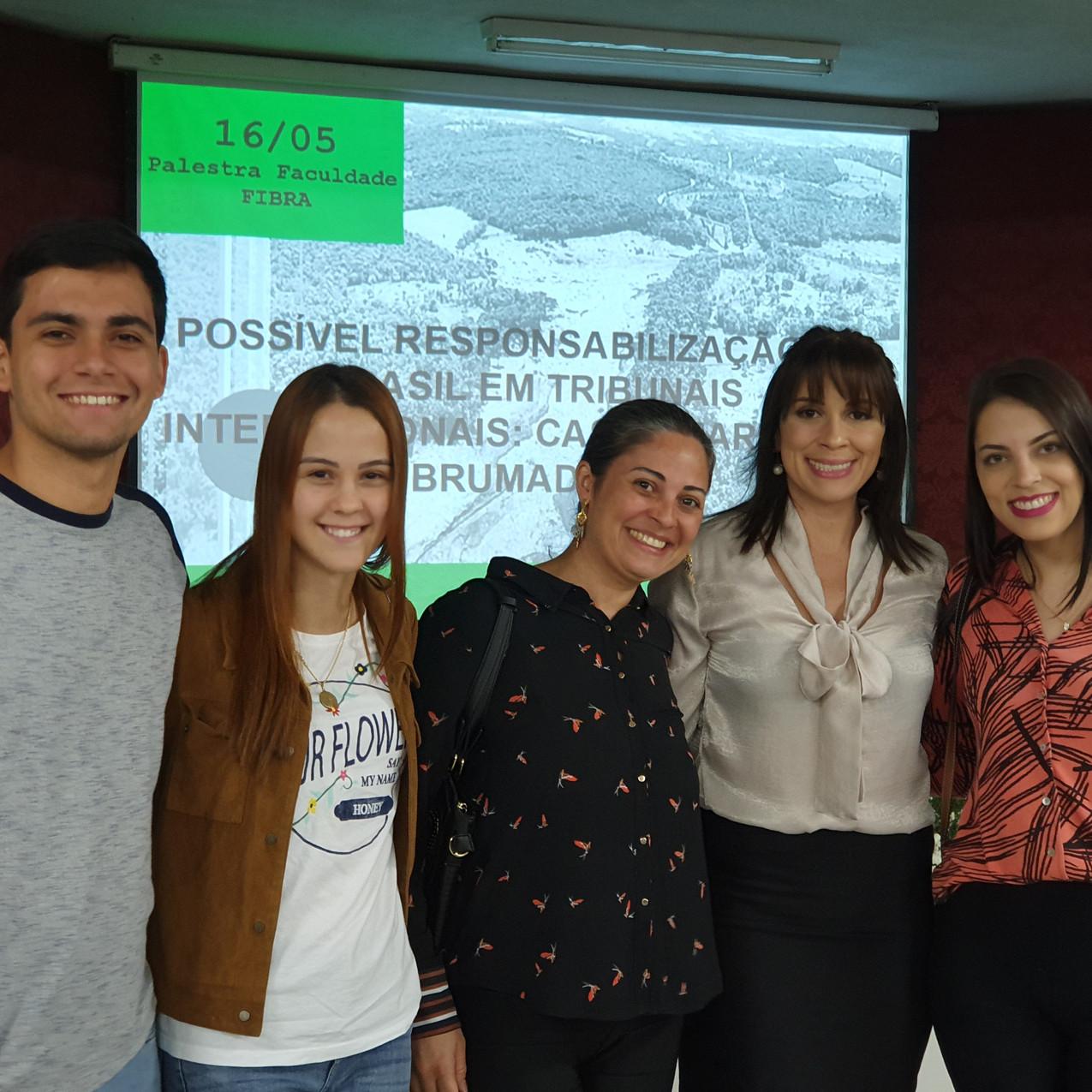palestra alunos
