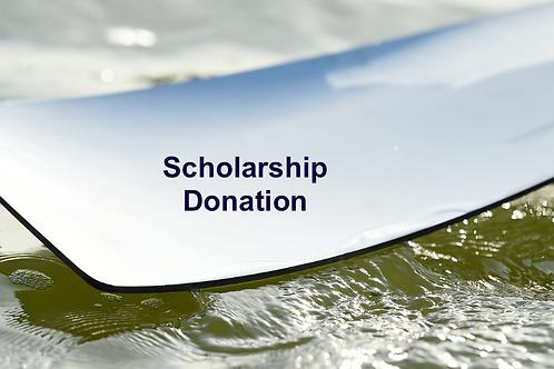 Donation towards club rowing scholarships