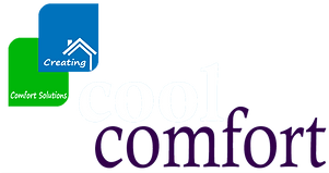 logo cool comfort creating comfort solutions we repair ac furnace thermostat heater