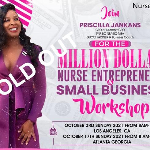 Million Dollar  Nurse Entrepreneur & Small Business Workshop LAS VEGAS 2021