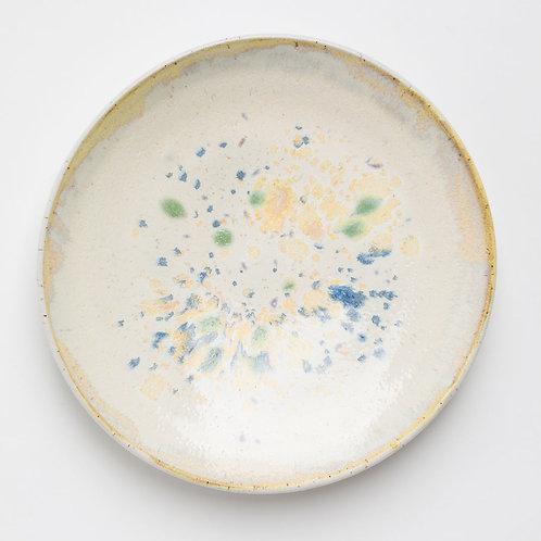 Opal Sintered Glaze Plate