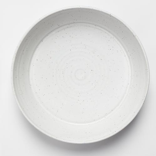 Satin White Large Platter