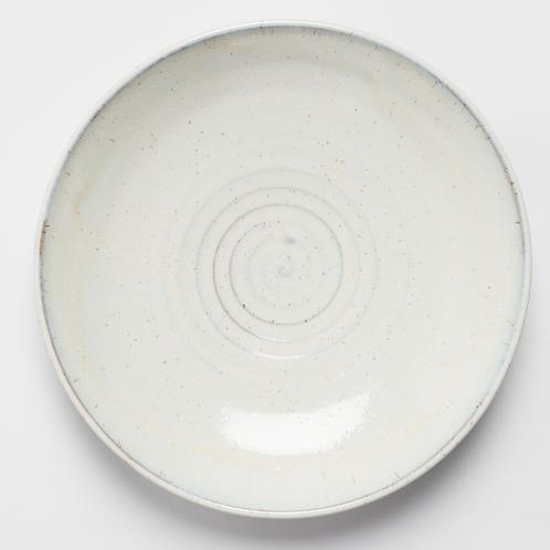 Satin White Plate