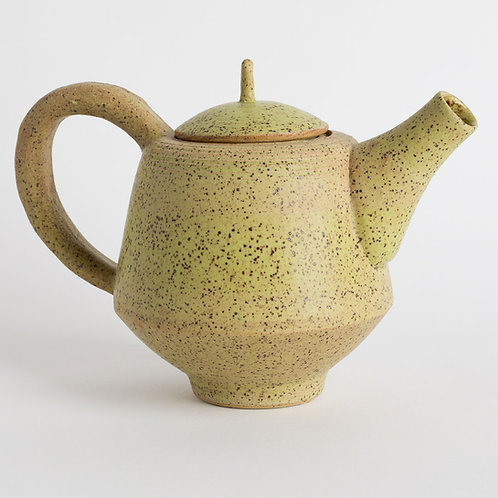 Strontium Green Angular Teapot
