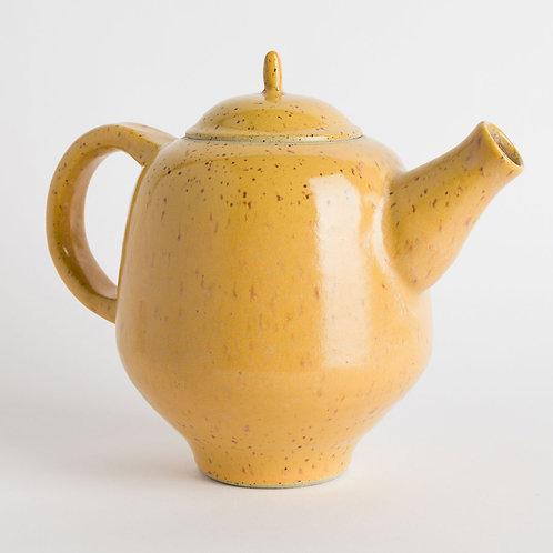 Butterscotch Yellow Angular Teapot