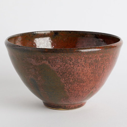 Rust Red Bowl