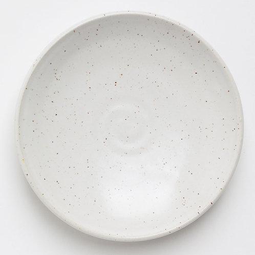 Satin White Small Plate