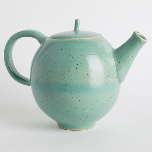 Copper Turquoise Betty Teapot