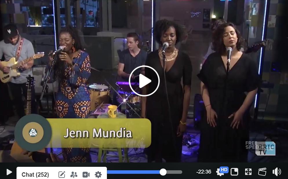 Jenn Mundia and band