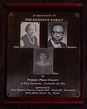 1981 Kennedy Trio Concert Appreciation P