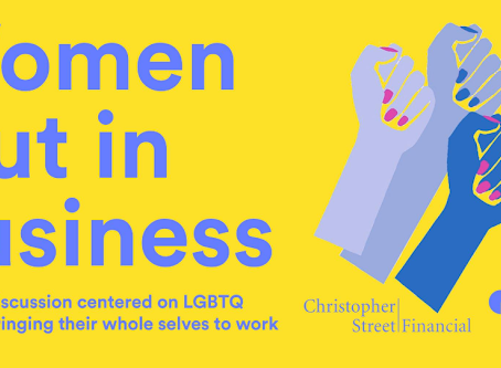 Women Out in Business Networking Event at Christopher Street Financial