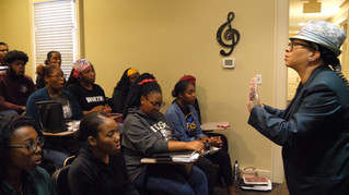 Nina Kennedy Directs the Fisk Jubilee Singers in Master Class