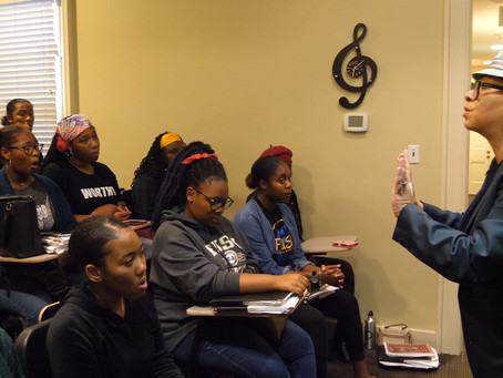 Nina Kennedy Directs the Fisk Jubilee Singers in Master Class