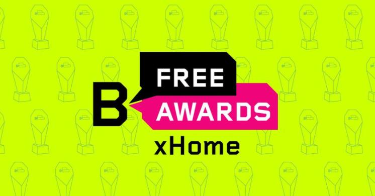 B Free Awards x Home