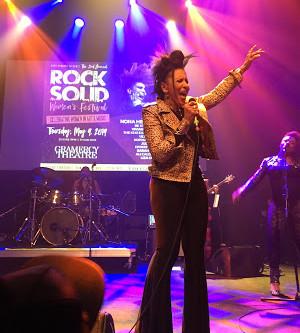 Nona Hendryx Stars in the 2nd Annual Rock Solid Women's Festival: Celebrating Women in Art & Mus