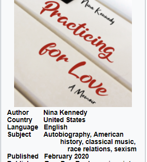 """""""Practicing for Love: A Memoir"""" by Nina Kennedy"""